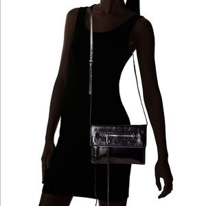 Rebecca Minkoff Regan Small Clutch Crossbody Black